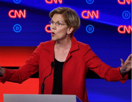 Warren's Pledge to Avoid First Nuclear Strike Sparks Pushback THE HILL | AUG. 4, 2019
